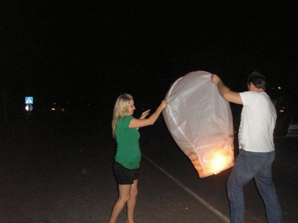 Воздушные фонарики